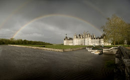 Castle of Chambord Stock Photo