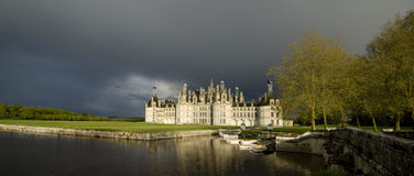 Castle of Chambord Royalty Free Stock Image