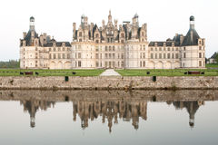 Castle of Chambord Stock Images