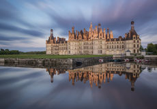 Castle of Chambord Royalty Free Stock Photos