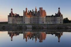 Castle of Chambord Stock Image
