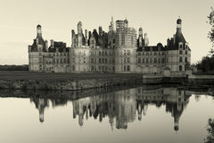 Castle of Chambord Royalty Free Stock Photo