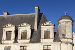 Castle of Chambord Royalty Free Stock Images