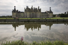 Castle of Chambord, Loire Valley Stock Photos