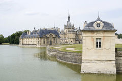 Castle Chantilly στοκ εικόνες με δικαίωμα ελεύθερης χρήσης