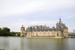 Castle of Chantilly Stock Image