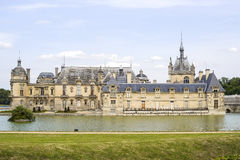 Castle of Chantilly. Chantilly (Oise, Picardie, France) - Historic castle and park Stock Photography