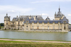 Castle of Chantilly Stock Photos