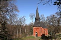 Castle chapel of Schloss Berlepsch near Witzenhausen. The castle chapel of Schloss Berlepsch near Witzenhausen Stock Image