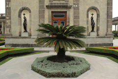 Castle of Chapultepec. Royalty Free Stock Image