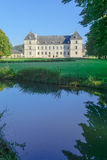 The castle Chateau of Ancy-le-Franc Stock Photo