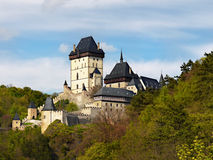 Castle Chateau Czech republic Stock Photos