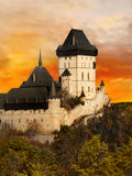 Castle Chateau Czech Republic Royalty Free Stock Photography