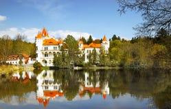 Castle Chateau Czech Republic stock photos