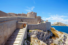 Castle Chateau d'If, near Marseille France Royalty Free Stock Photo