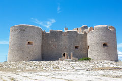 Castle Chateau d'If, near Marseille France. Royalty Free Stock Image
