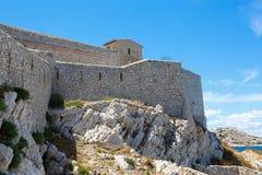 Castle Chateau d'If, near Marseille France. Stock Photo