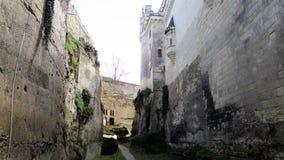 Castle Chateau de Breze nel Loire Valley & nel x28; France& x29; Fotografia Stock