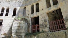 Castle Chateau de Breze nel Loire Valley Francia immagine stock libera da diritti