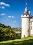 Castle Chateau de Chaumont-sur-Loire, France Stock Image