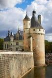 Castle Chateau de Chenonceau Fotografia Stock