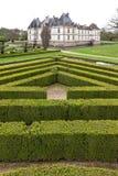 Castle Chateau de Cormatin stock image