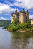 Castle Chateau de Val, France Royalty Free Stock Photos