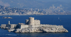 The castle Chateau dIf near Marseille, France Stock Images