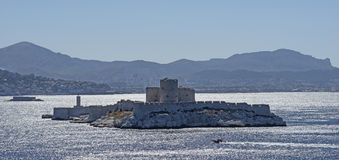 The castle Chateau dIf near Marseille in France Stock Images