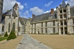 Castle of Chateaudun in Eure et Loir Stock Images