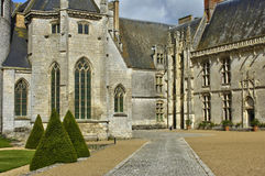 Castle of Chateaudun in Eure et Loir Stock Image