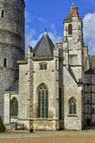 Castle of Chateaudun in Eure et Loir Stock Photo