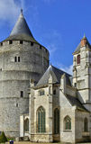Castle of Chateaudun in Eure et Loir Stock Photos