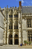 Castle of Chateaudun in Eure et Loir Royalty Free Stock Image