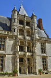 Castle of Chateaudun in Eure et Loir Royalty Free Stock Images