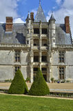 Castle of Chateaudun in Eure et Loir Stock Images