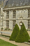 Castle of Chateaudun in Eure et Loir Royalty Free Stock Photo
