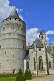 Castle of Chateaudun in Eure et Loir Stock Photography