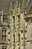 Castle of Chateaudun in Eure et Loir Royalty Free Stock Photos