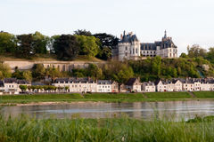 Castle of Chaumont Stock Photography