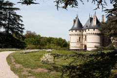 Castle of Chaumont Royalty Free Stock Image
