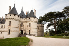 Castle of Chaumont stock image