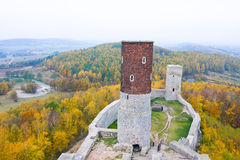 Castle in Checiny Royalty Free Stock Photo