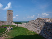 Castle in Checiny, Poland Royalty Free Stock Image