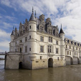 Castle  of Chenonceau Stock Photo