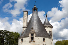 Castle of Chenonceau. Royalty Free Stock Photos