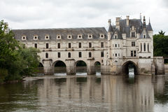 Castle of Chenonceau. Royalty Free Stock Photography
