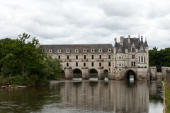 Castle of Chenonceau. Royalty Free Stock Images