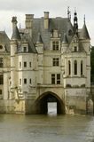 Castle chenonceau Royalty Free Stock Photos