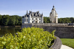 Castle Chenonceau, france Royalty Free Stock Images